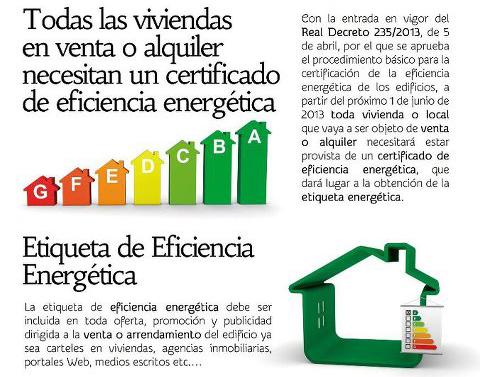 Certificado de Eficiencia Energética: obligatorio para vender o comprar viviendas